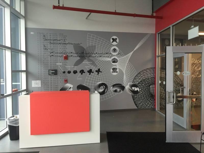 Mural Architectural Installation - Graphic Installation