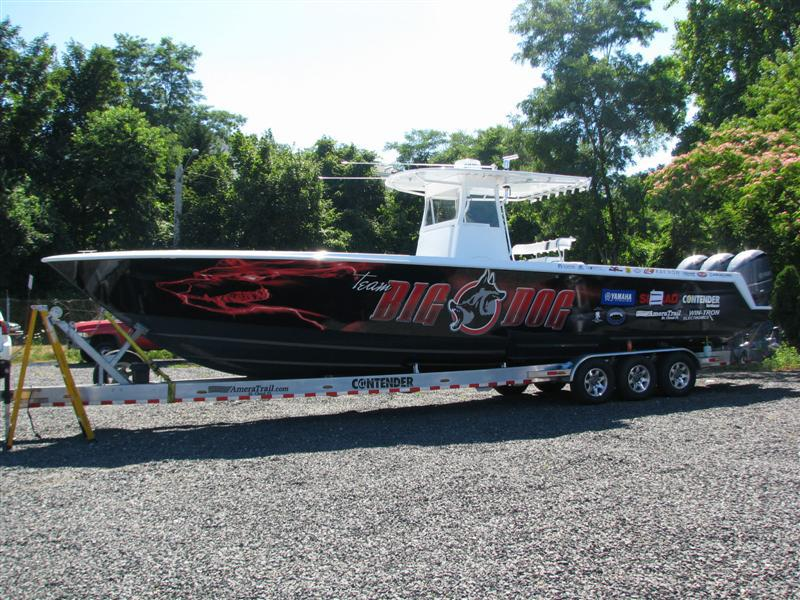 Boat Wrap Vehicle Graphics Installation