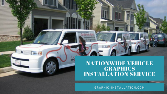 Vehicle Graphic Installation Service NY, NJ, Boston, and across U.S.