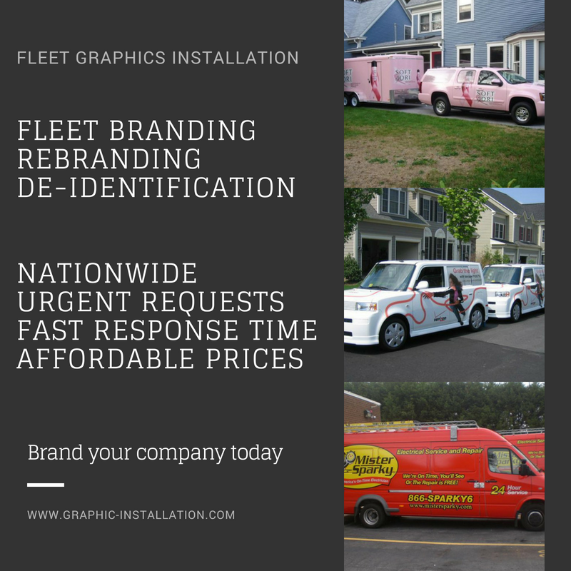 Fleet Graphics Nationwide Installation Services