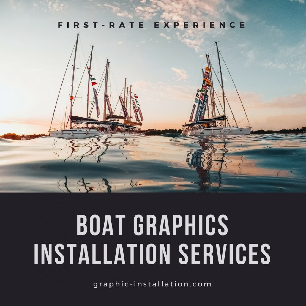 Boat Graphics Installation Services