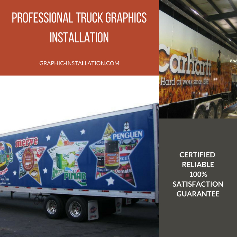 Truck Graphics Installation Service