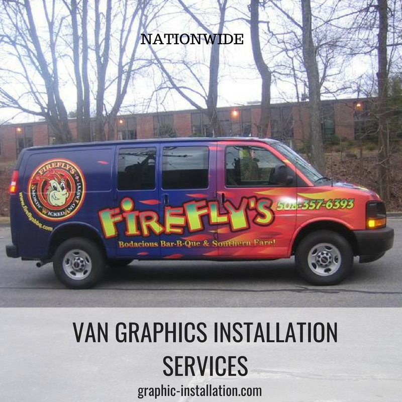 Van Graphics Installation Service by Graphic Installation Crew