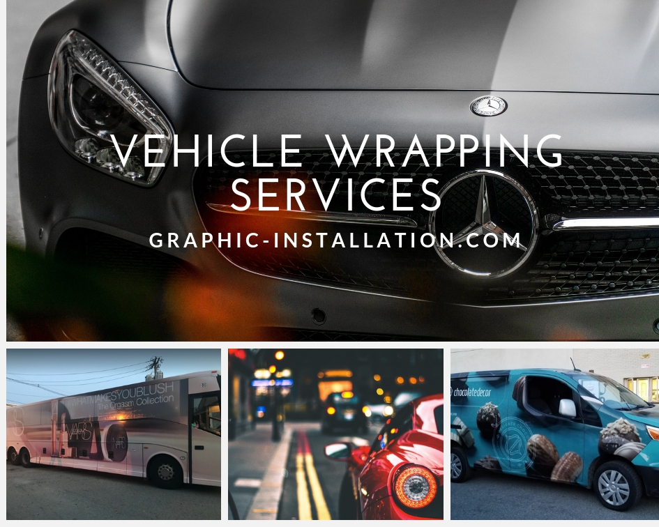 Wrapping Service by Graphic Installation Nationwide
