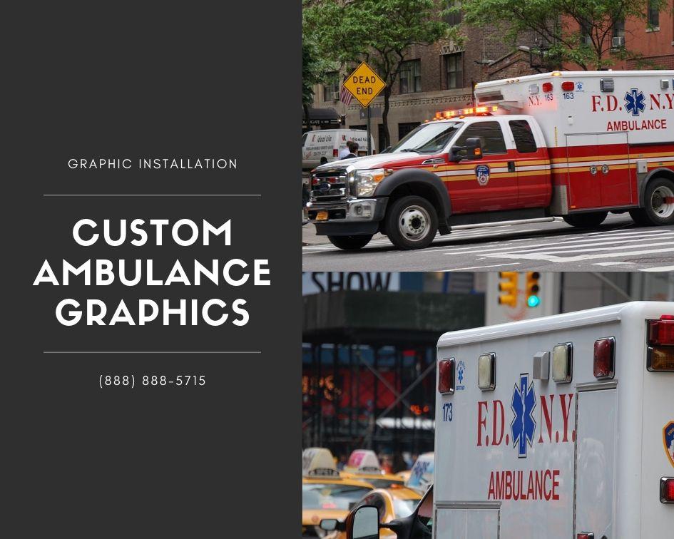 Custom Ambulance Graphics
