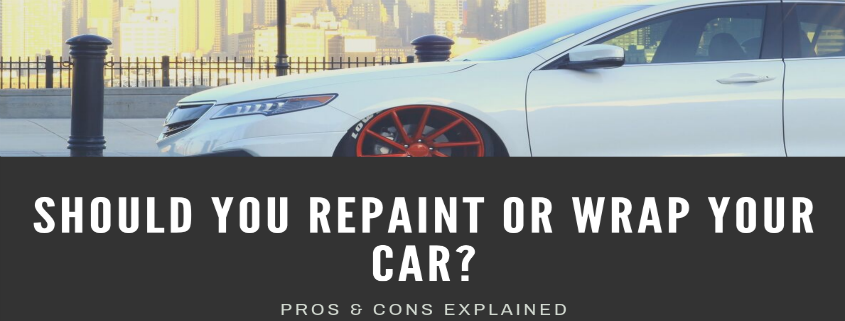 Should You Repaint or Wrap Your Car