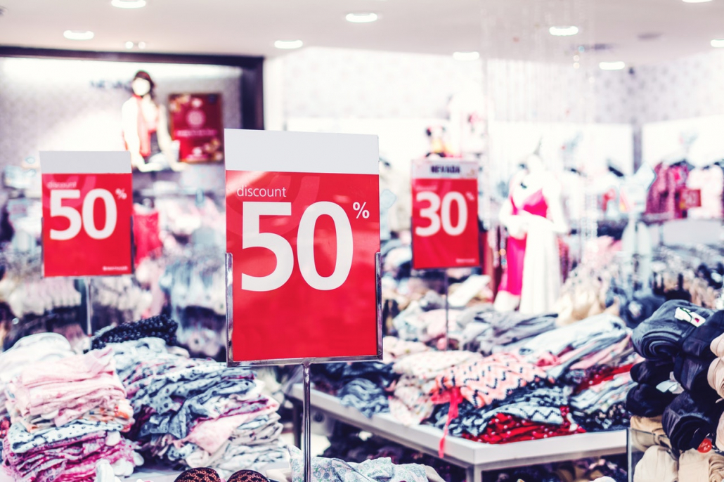 retail sale signs